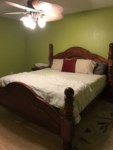 Solid King Bed w/2 nightstands in Fort Leonard Wood, Missouri