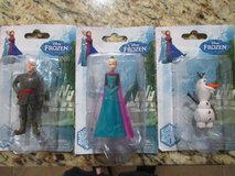 Disney Frozen Figurine Cake Toppers - Elsa, Olaf, Kristoff in Kingwood, Texas