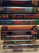 VHS: Disney Movie LOT in Macon, Georgia