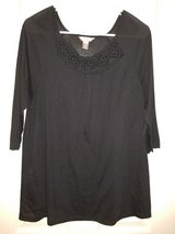 Ladies black White Stag blouse in Kingwood, Texas