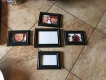 Picture frame set in Fort Polk, Louisiana
