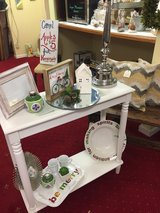 Xmas items entry table lamp etc in Leesville, Louisiana