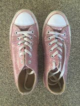 Women's Pink Sparkle Converse - Size 9 in Westmont, Illinois