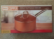 Parini Copper 3 Quart Sauce Pan in Joliet, Illinois