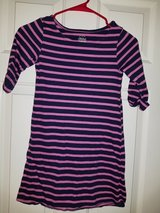 Girls pink and navy striped dress in Spring, Texas