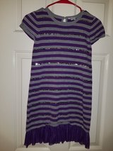 Purple a gray knitted dress in Spring, Texas