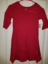 Girls red dress in Spring, Texas