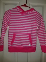 Girls pink and white striped pull over in Spring, Texas