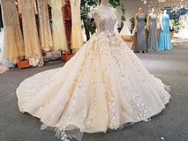 High quality gowns made in Bali, Indonesia in Los Angeles, California