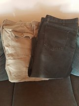 Two Pairs Of Mens Pants Size: 44 x 30 in Ramstein, Germany