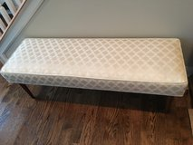 ANTIQUE CLASSIC UPHOLSTERED BENCH in Oswego, Illinois