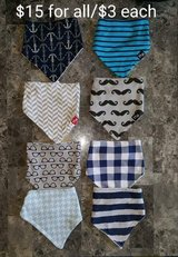 Bandana bibs in Elizabethtown, Kentucky