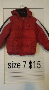 Size 7 jordan coat in Elizabethtown, Kentucky
