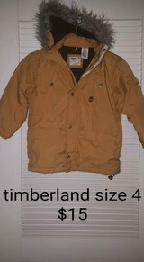 Size 4 timberland coat in Elizabethtown, Kentucky