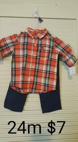 Size 24 carter outfit in Elizabethtown, Kentucky