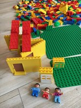 Over 100 Lego Duplo blocks in Ramstein, Germany