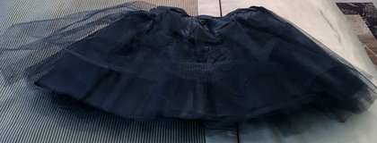 XS OR CHILD KIDS BLACK TUTU OR UNDERSLIP, NIP in Lakenheath, UK