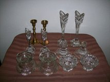 Crystal candlestick holders in Las Vegas, Nevada