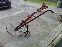 Antique hand plow in Kingwood, Texas