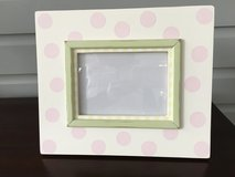 Large Decorative Wooden Picture Frame - Pastel Colors 5x7 Picture in St. Charles, Illinois