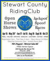 Stewart County Riding Club Year End banquet in Fort Campbell, Kentucky