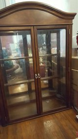 Beautiful Mirrored Display Case - A Must See in Camp Lejeune, North Carolina