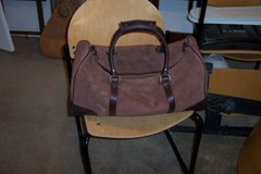 Marlboro Suede/Leather Duffle new in Alamogordo, New Mexico