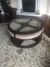 glass top table & 4 stools in Baytown, Texas