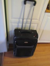 Samsonite Black Suitcase W/Wheels in New Lenox, Illinois