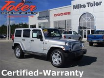 2012 Jeep Wrangler Unlimited-Certified-Warranty (Stk#14800a) in Cherry Point, North Carolina