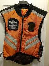 ICON Mens Orange Mil Spec Motorcycle Military Reflective Vest in Wilmington, North Carolina