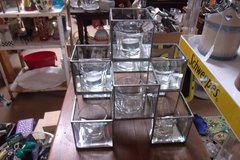 Glass Candle Holder Centerpeice in Alamogordo, New Mexico