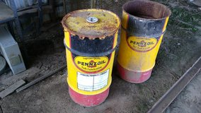 Pennzoil Barrels in Alamogordo, New Mexico