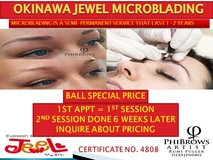 OKINAWA JEWEL PHIBROWS MICROBLADING (BALL SPECIAL) in Okinawa, Japan