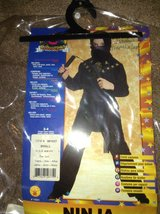 Ninja Costume Small in Joliet, Illinois