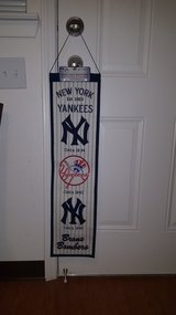 MLB New York Yankees Banner in Fort Bliss, Texas