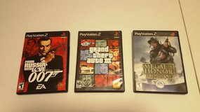Playstation 2 Games in Fort Bliss, Texas