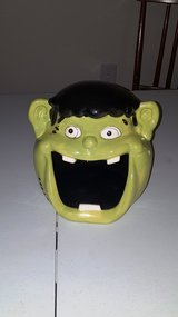 Ceramic Frankenstein Candy Dish in Fort Bliss, Texas
