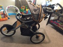 Jeep Overland Limited Jogging Stroller with Front Fixed Wheel, Fierce in Lawton, Oklahoma