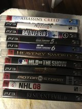 11 PS3 GAMES in Fort Knox, Kentucky