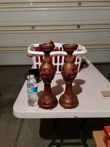 Tall candle holders in Vacaville, California