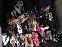 (LOT) 40+ woman's size 8 Shoes, Boots and Sandals in Quad Cities, Iowa