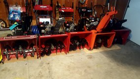 """2 stage Snowblower's. 24"""" with electric start in New Lenox, Illinois"""