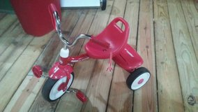 Radio flyer tricycle in Fort Rucker, Alabama