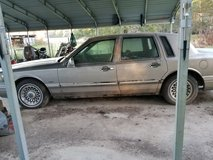 Lincoln town car executive in Leesville, Louisiana