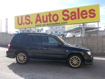 2000 SUBARU FORESTER VERY RARE MANUAL TRANSMISSION WITH SUN ROOF in Okinawa, Japan
