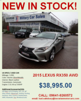 2015 Lexus RC350 AWD in Grafenwoehr, GE