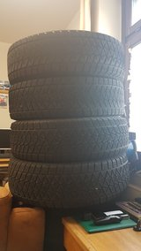 Bridgestone blizzak winter tires size 255/70 18r. in Fort Hood, Texas