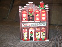 Coca Cola Coke Christmas Town Square Collection Bottling Company in Elgin, Illinois
