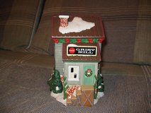Coca Cola Coke Christmas Town Square Collection Grist Mill in Elgin, Illinois